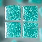 MosaixPro 200g 10x 10x 4mm 302-piece Glas Fliesen, türkis