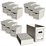 Comic Concept 10x Comic Box (kurz) mit Deckel stapelbar Karton NEU