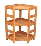Isfort Holzhandels GmbH Praktisches Regal Beethoven, 90x56x56cm, Echtholz Buche geölt, für Wohnzimmer, Büro oder Kinderzimmer, echtes Holz