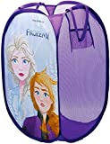 Arditex Disney Eiskönigin 2 Mädchen Pop-Up Aufbewahrungs Behälter Kinder Schlafzimmer Faltbar Wäschekorb