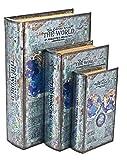 Bellaa 25952Box Buch Set von 3Detektiv Sherlock Holmes Secret Stash