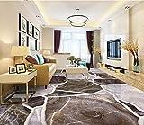 Wapel Fototapete 3D Wandtapete Benutzerdefinierte Größe Tapeten 3D Bodenbelag Steinboden Fliesen Wandbild Für Wohnzimmer Schlafzimmer Badezimmer 3D Boden Malerei Pvc Tapete 130x80cm