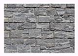 - 1 Muster - W-015 - Granit Wandverkleidung Naturstein Wandverblender Mauerverkleidung Steinwand Natural Stone Wall Cladding - Fliesen Lager Verkauf Stein-mosaik Herne NRW