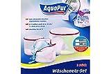 AquaPur® Wäschenetz-Set Lila 273626 Rund