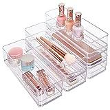 STORi Schubladen-Organizer aus Kunststoff, transparent, 22,9 x 7,6 x 5,1 cm, 6 Stück