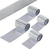PP OPOUNT 2360 Stück 5 x 5 mm Mini Spiegelmosaiksteine, Selbstklebend Spiegelfliesen, Spiegel Mosaik Aufkleber für Basteln und Dekorieren