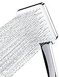 Newentor Duschkopf Regendusche, Handbrause Duschkopf Gross, Wassersparender Duschkopf Hochdruck, Duschkopf XXL mit 6 Strahlarten (Duschkopf ohne Schlauch)