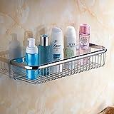 Beelee Messing Ablagen mit Küchenspeicher Organisator Badezimmer Duschen Aufbewahrungskorb Ablage für die Dusche