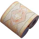 Creation Core Creation Core Tapetenbordüre, wasserdicht, 3D-Muster, Wanddekoration, abnehmbar, selbstklebend, für Küche, Badezimmer, Fliesen, Diamantgelb