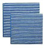 Das Blaue Wunder - Bamboo Premium Hand- und Duschtuch Set (blau)