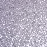 Venilia Fensterfolie statisch Vitrostatic Wassertropfen, Sichtschutz Folie, Milchglasfolie, Scheibenfolie, Folie für Duschkabine, Glasdekorfolie, transparent, 67,5cm x 1,5m, Stärke: 0,2mm, 53015