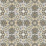 Casa Moro marokkanische Keramikfliesen Kasbah 20x20 cm mehrfarbig 1qm orientalische Fliesen Mosaik   Wandfliese für Bad & Küchenrückwand   Schöne Küche Flur & Badezimmer   FL15680
