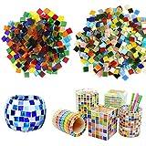 Allazone Mosaik Fliesen Stücke Rautenform Sortierte Farben (Platz)